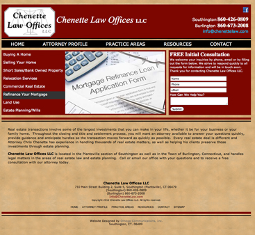 Redesigned Chenette Law Offices